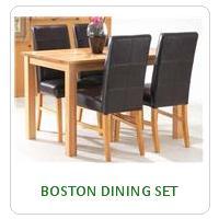 BOSTON DINING SET